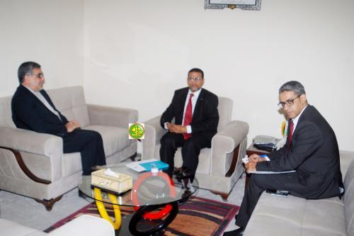 Le ministre de la Santé s'entretient avec l'ambassadeur d'Iran en Mauritanie