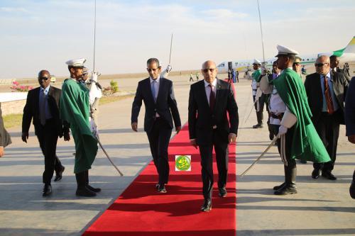 Le Président de la République regagne la capitale en provenance de Bamako