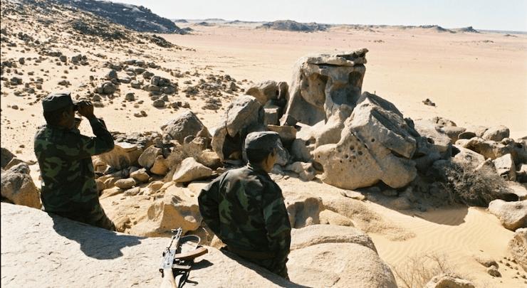 Des véhicules d'orpailleurs mauritaniens immobilisés par des éléments du Polisario