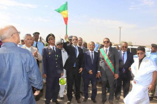 Le Premier ministre donne le coup d'envoi de la réhabilitation de l'axe Aleg – Boutilimit