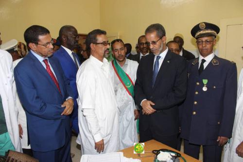 Le Premier ministre visite le centre hospitalier d'Aleg