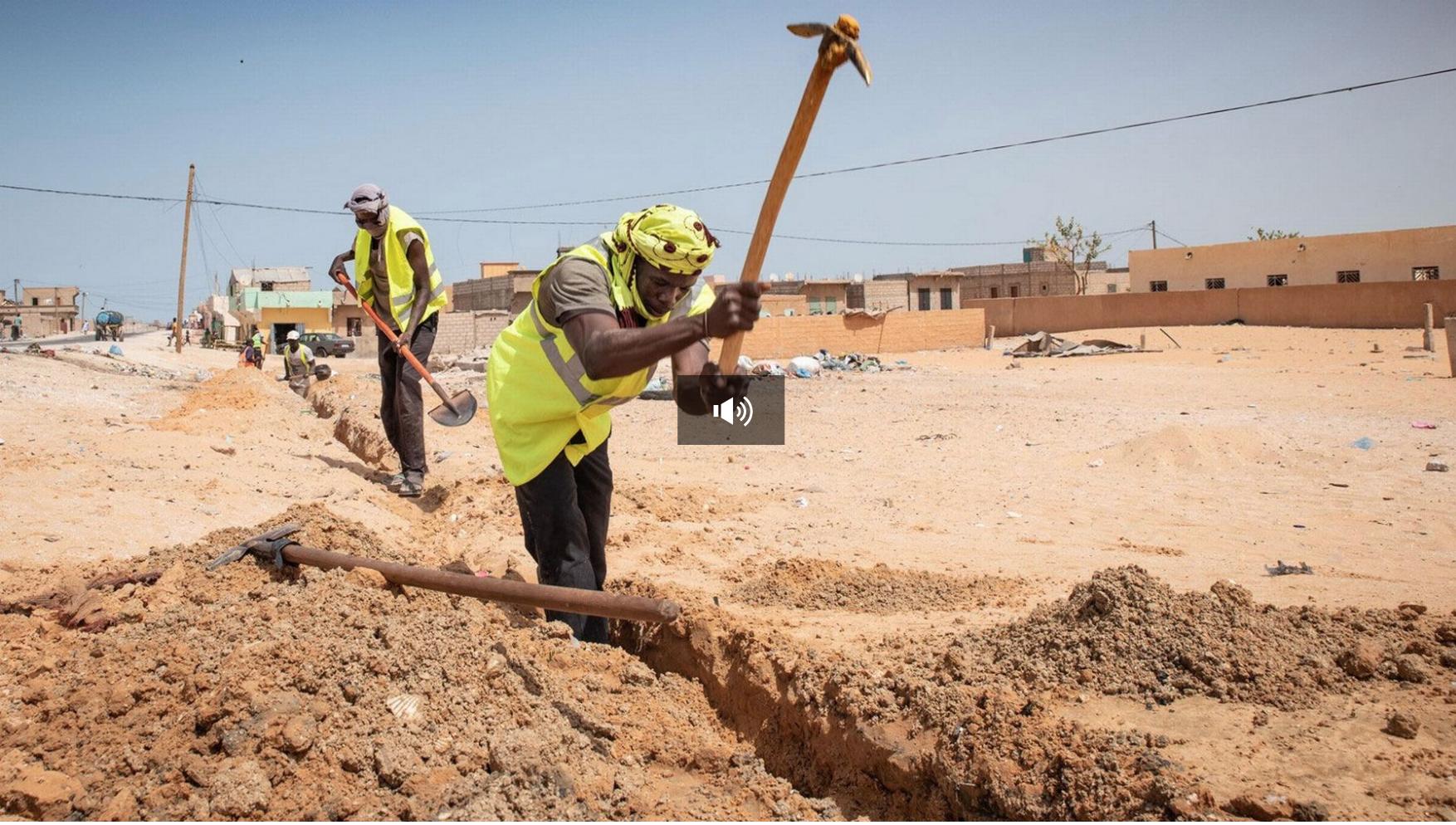 """Le projet romand """"Solidarité eau"""", un centime solidaire pour la Mauritanie"""