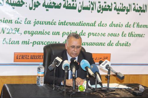 Le président de la CNDH : la Mauritanie consent des efforts considérables en matière de droits de l'Homme