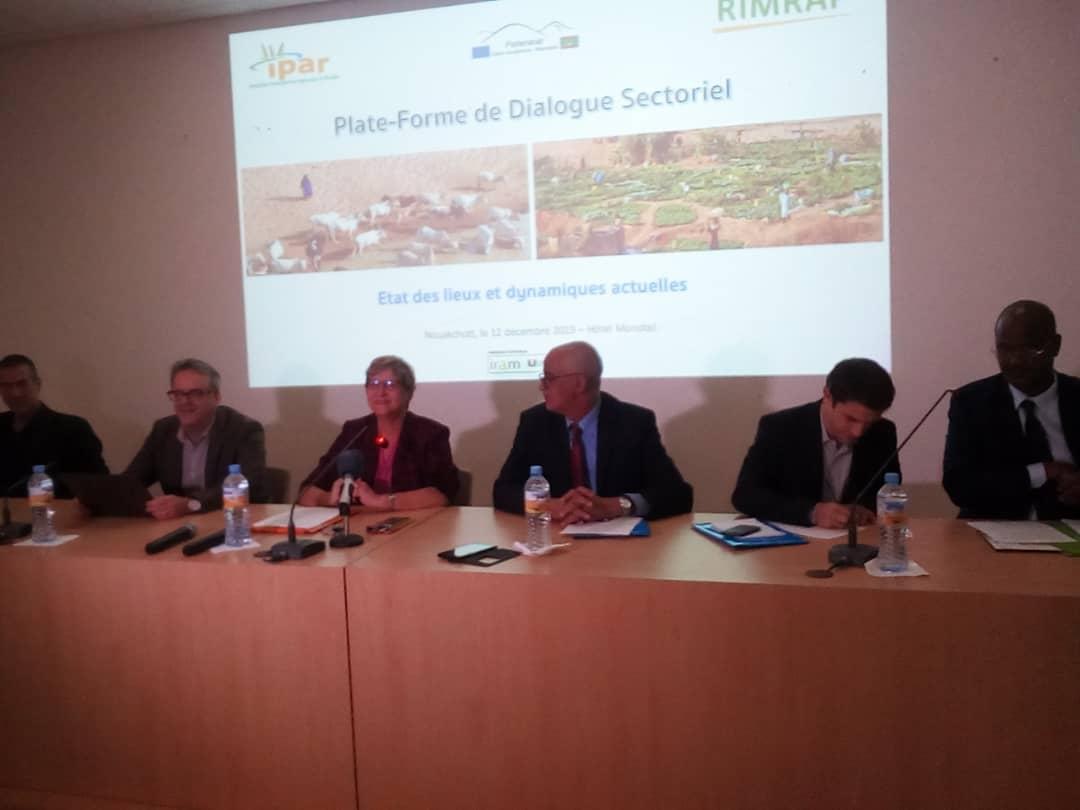 Plate-forme Dialogue sectoriel : Faire l'état des lieux des dynamiques actuelles