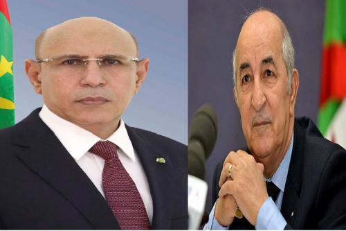 Le Président de la République félicite le Président algérien
