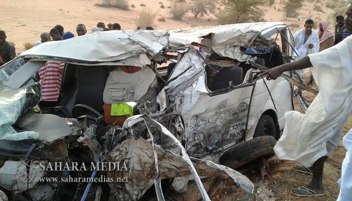 Décès de trois hommes d'affaires mauritaniens dans un accident de la route