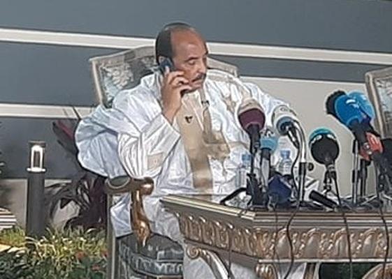 Mauritanie : l'ex président Aziz avertit contre la tentation du Parti-Etat