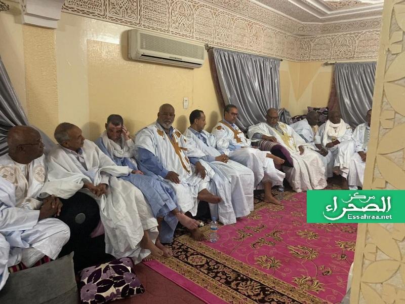 Le président Ghazouani reçoit la  coordination des ex sénateurs