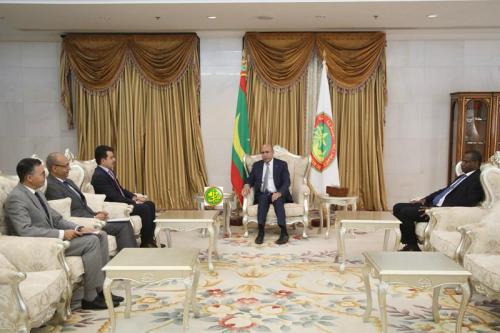 Le Président de la République reçoit le Directeur Général de l'ISESCO