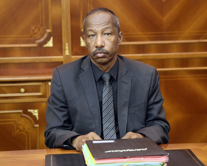 DR HAIMOUD RAMDAN, ministre de la justice
