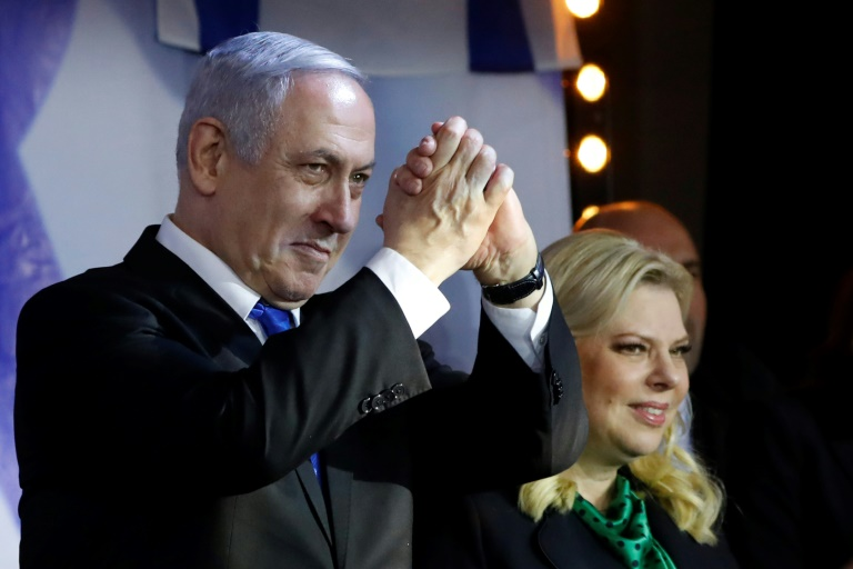 Israël: Netanyahu reconduit confortablement à la tête du Likoud