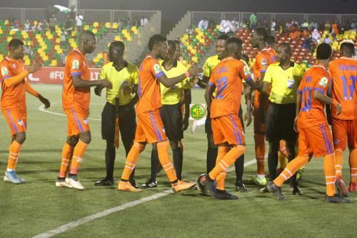 L'équipe Fc Nouadhibou fait match nul avec l'équipe nigériane Rangers International Fc, Enugu