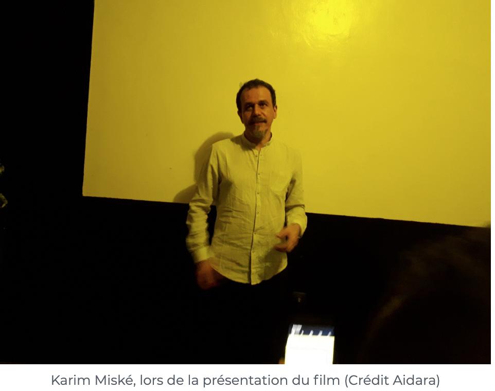«Décolonisation », le film de Karim Miské en avant première dans les studios Holpac de Nouakchott