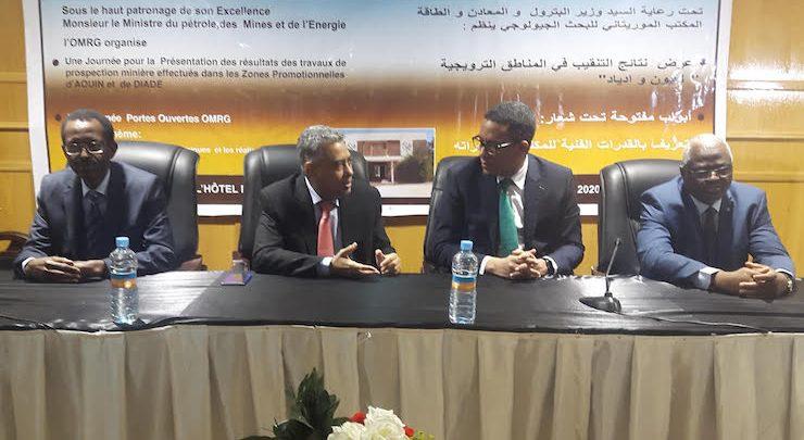 Mauritanie : le gouvernement annonce des indicateurs miniers probants dans l'est du pays