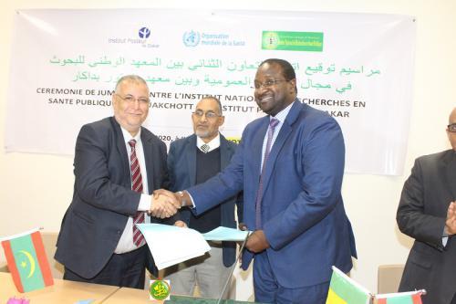 Jumelage entre l'Institut National de Recherche en Santé Publique et l'Institut Pasteur de Dakar