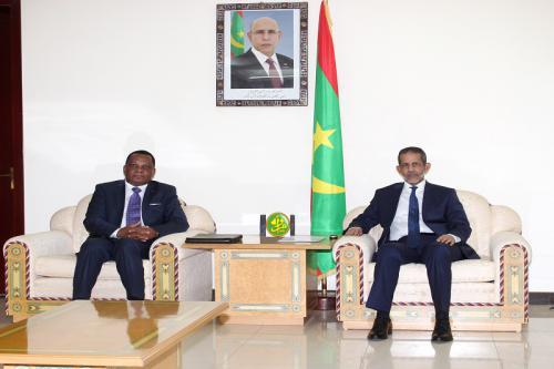 Le Premier ministre reçoit le ministre des affaires étrangères congolais