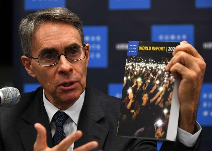Hommage à Ghazaouni dans le dernier rapport 2020 de Human Rights Watch