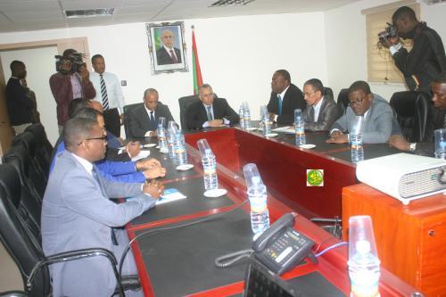 Le Président de la Commission nationale des droits de l'homme visite certains centres d'accueil de l'ANRPTS à Nouakchott
