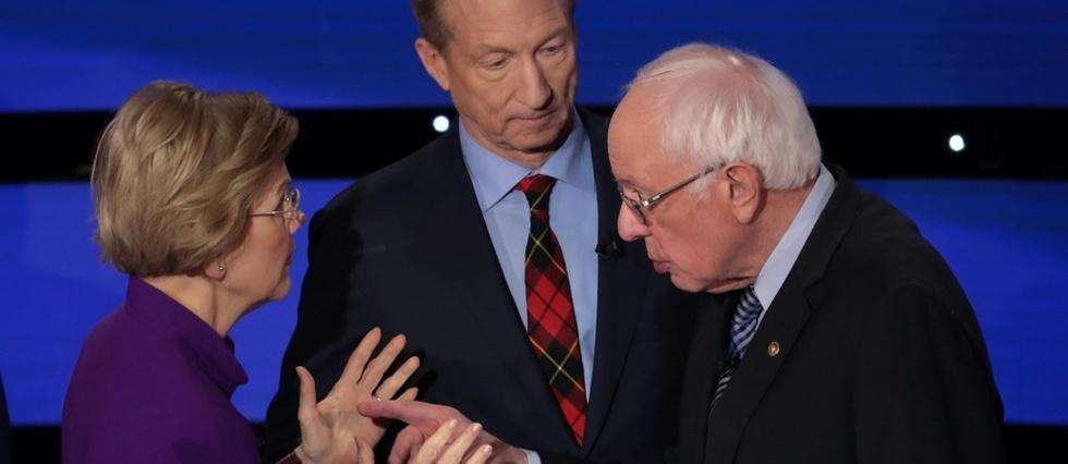 Etats-Unis: virulent échange entre Sanders et Warren à l'issue du débat de mardi (CNN)