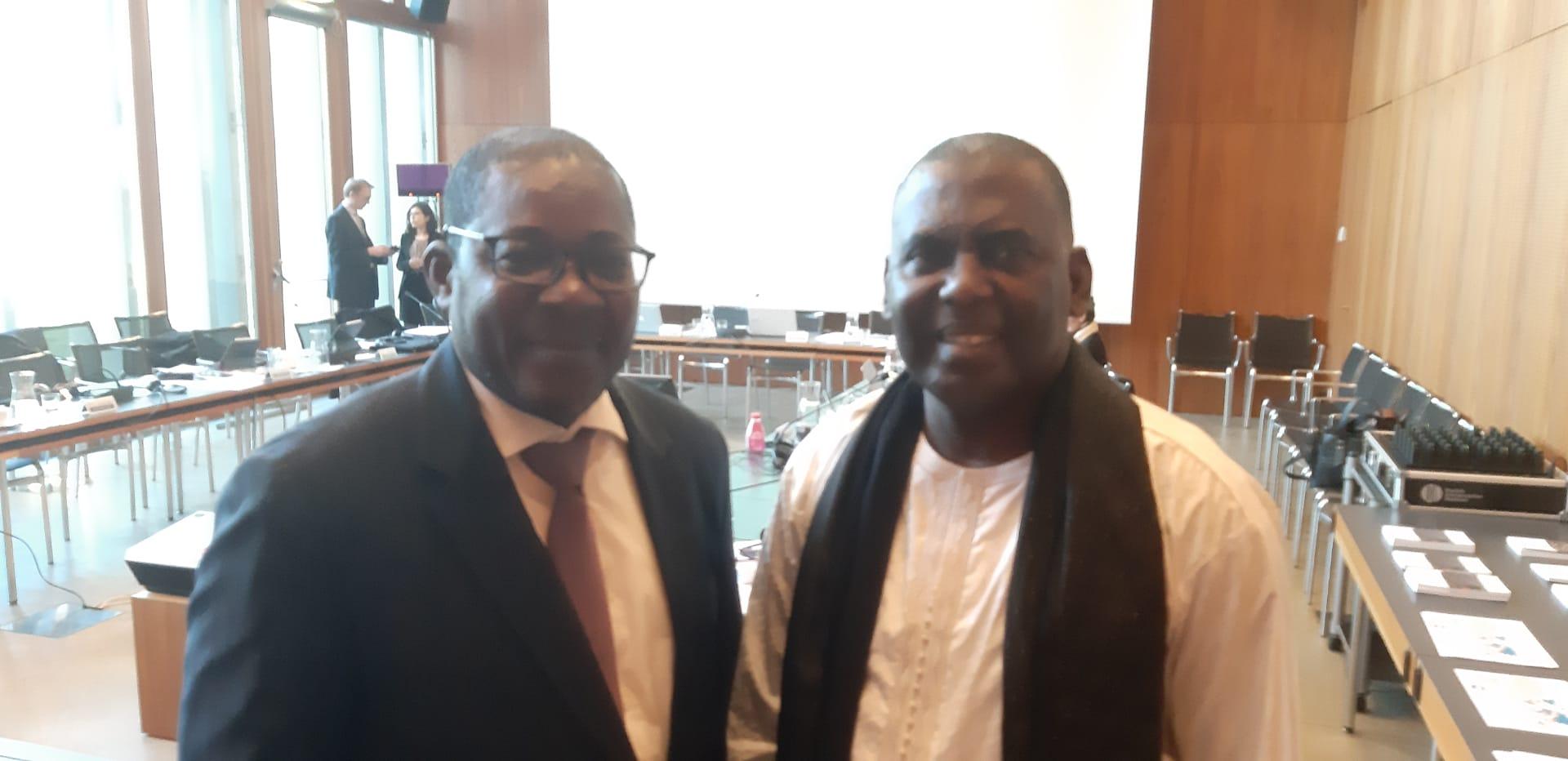 Communication du député mauritanien, Biram Dah Abeid, devant le Comité des Droits de l'Homme, de l'Union internationale des parlementaires (Uip), Session du 19 au 23 janvier à Genève, Suisse.