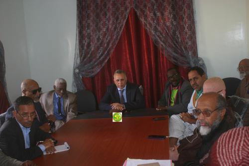 Le président de la CNDH visite l'Union mauritanienne des associations nationales des personnes handicapées