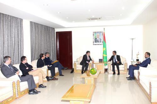Le Premier ministre reçoit le représentant spécial de l'UE pour le Sahel
