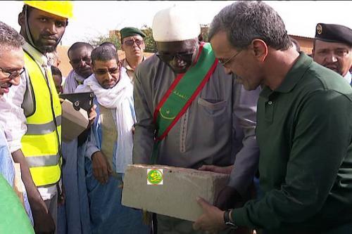 Le ministre du développement rural visite la ferme pilote d'Idini