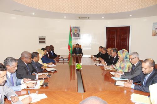 Comité ministériel sur les modalités de mise en œuvre et de suivi du Programme Prioritaire annoncé hier