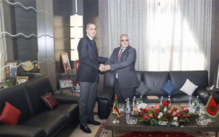 De hauts responsables de la sécurité mauritanienne reçus par Hammouchi