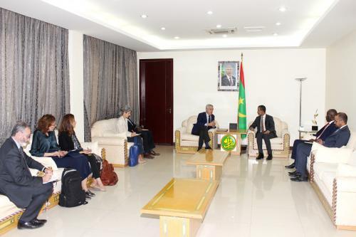 Le Premier ministre reçoit une mission du Haut-Commissariat des Nations des réfugiés