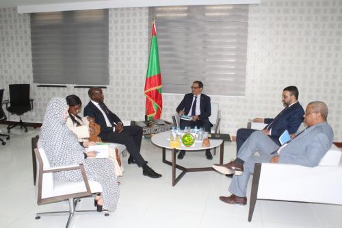 Le ministre de l'Economie reçoit le Représentant Résident du PNUD