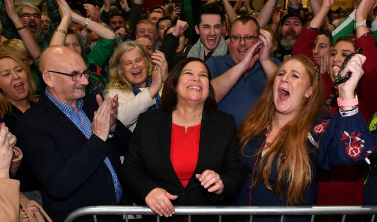 Percée historique du Sinn Fein aux législatives en Irlande