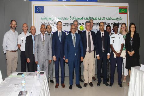 Lancement du projet de la composante police du G5 Sahel en Mauritanie