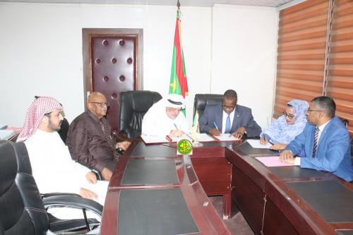 Construction d'un futur institut mauritanien des arts par les Émirats Arabes Unis