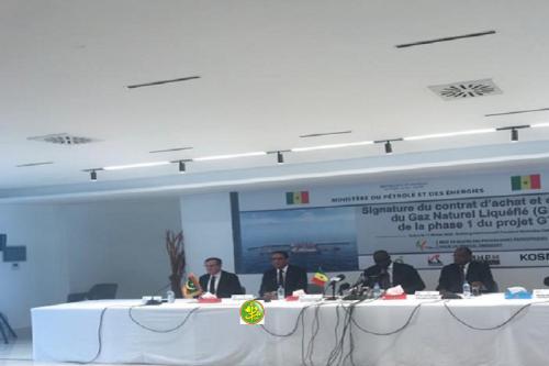 Signature d'un accord de commercialisation du gaz du champ Grand Tortue Ahmeyim (GTA)