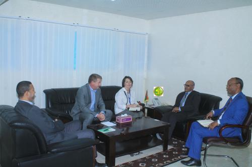 Le ministre des Pêches reçoit le coordinateur régional de la FAO pour Afrique du Nord