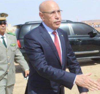 Le Président Ghazwani visite le Centre hospitalier national