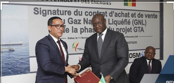 la Mauritanie et le Sénégal actent la première phase d'exploitation du gaz (GNL)