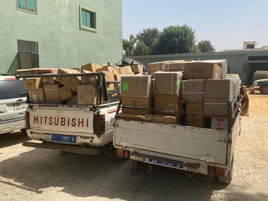 Trafic international de médicaments venant de Mauritanie : Une importante quantité saisie par la Douane…