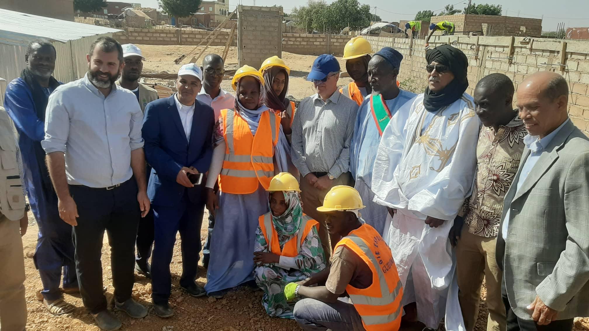 Gouraye : Le chantier école avance à un rythme soutenu