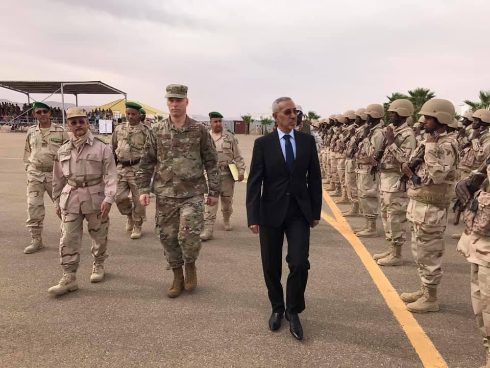 Le ministre de la Défense supervise à Atar le démarrage de l'exercice militaire Flintlock 2020