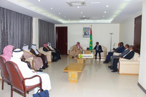 Le Premier ministre reçoit le ministre saoudien du commerce et de l'investissement