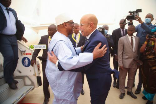 Le Président malien arrive à Nouakchott du pour participer au sommet G5 Sahel