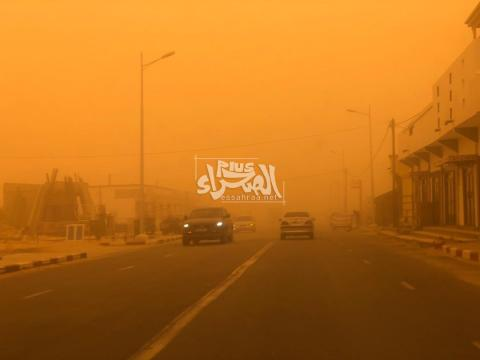 Une vague de poussière plonge Nouakchott dans une demi-obscurité!