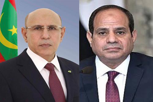 Le Président de la République adresse ses condoléances à son homologue égyptien