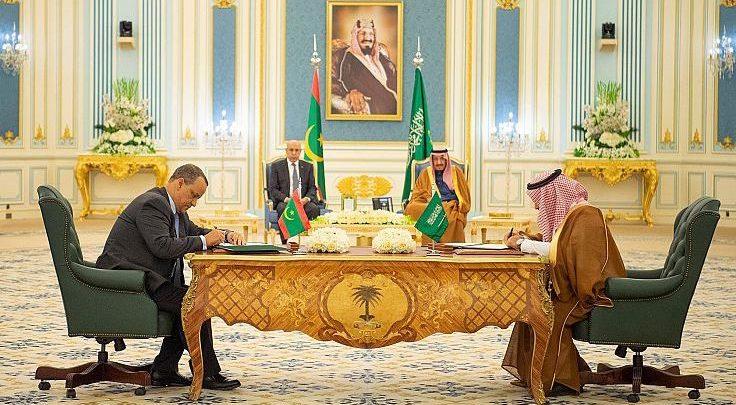 Mauritanie-Arabie Saoudite : signature de quatre accords de coopération