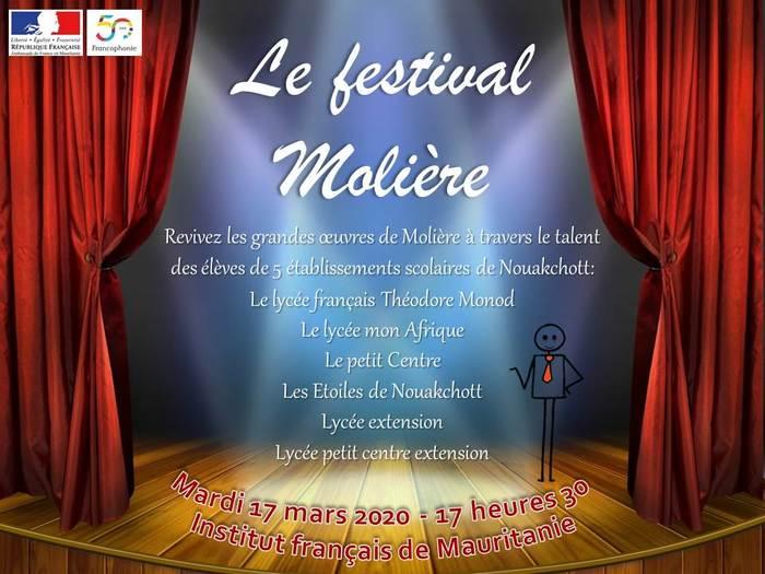 Le festival Molière Institut français de Mauritanie Nouakchott