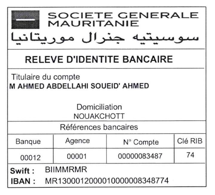 Voici l'appel d'Ahmed Ould Daddah qui vaut une fortune…