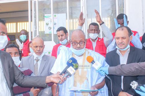 Le Croissant rouge mauritanien lance une campagne de sensibilisation pour la prévention du coronavirus