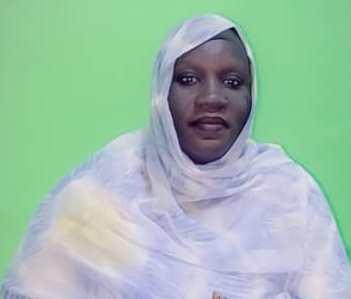 Mme Mariya Ladji Traoré, présidente de la section de l'Union de la Presse Francophone (UPF-Mauritanie)